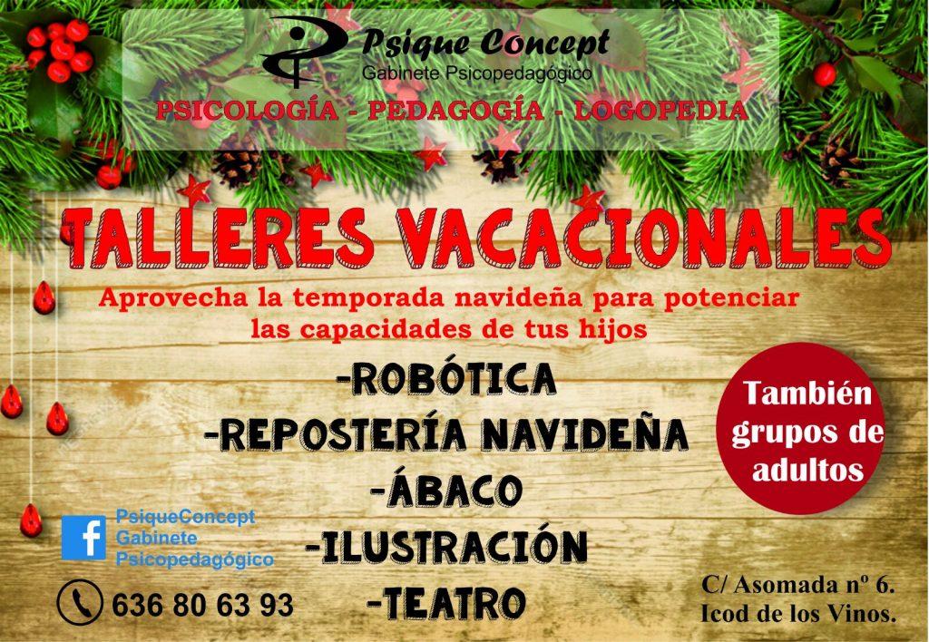 Taller-vacacional-temporada-navideña-Icod-de-los-vinos-Tenerife